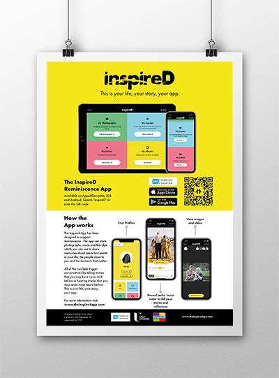 Inspired App Poster